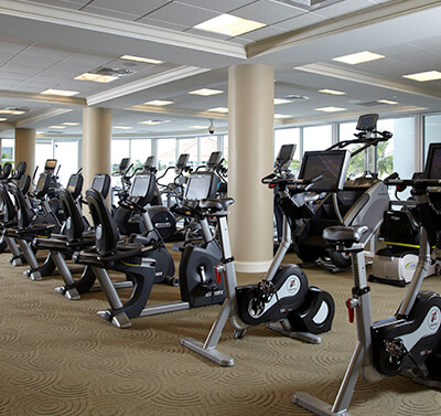 Cycle Bikes at Admirals Cove Fitness Center