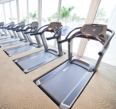 Treadmills at Admirals Cove Fitness Center
